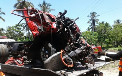 Fallecen 13 personas en un accidente en autovía Samaná